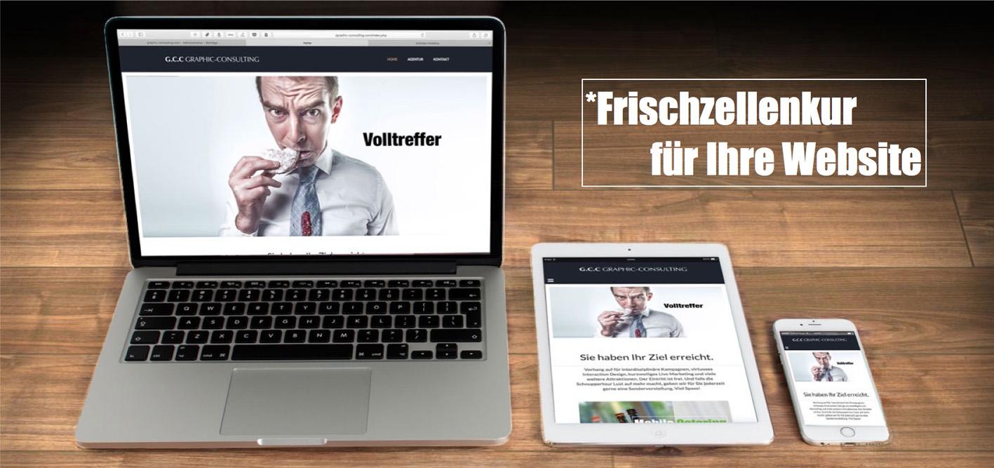 Frischzellenkur für Ihre Website